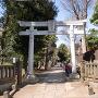 熊野神社(鳥居から)