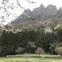 岩櫃山と潜龍院跡