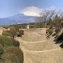 障子堀と富士山