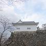 本丸東南隅石垣と多門櫓①