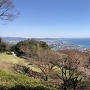 眺望  小田原城方面