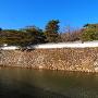 石垣と袖池