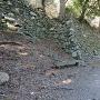 二の丸の石垣