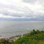 城址から見た海側の風景
