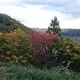 替佐城から壁田城を見る