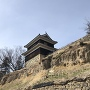 尼ヶ淵から見た西櫓
