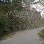 亀山城 天守台石垣