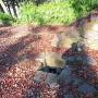 排水溝跡(御台所屋敷跡下段)