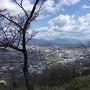 神南備山展望台より