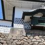 石川門櫓出窓(石落とし)