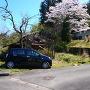 春日神社鳥居前駐車スペース