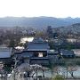桜と北アルプスと松本城