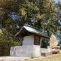 本丸跡と神社