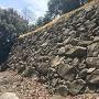 石垣(二の丸西曲輪下)