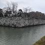 月見櫓跡と水堀