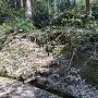 林道からの攻城口