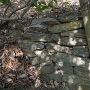 補強された石垣