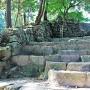 天主閣への石段