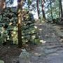 本丸取付台石段と石垣