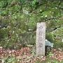 石碑「中村城跡」