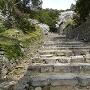 大手道石階段