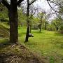 松根城入口下の公園