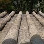 天守 1階の笏谷石の屋根