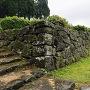 中の御門の手前の石垣