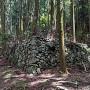 登城路の石垣