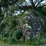 南東隅櫓跡石垣