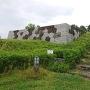 南西隅櫓台と記石