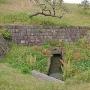 石製樋管と赤石積水路