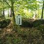 明知城 出丸の石垣