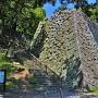 月見櫓跡石垣(南東側)
