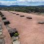 苗木城 武器蔵跡の礎石
