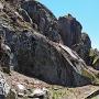 苗木城 林立する巨岩