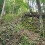 小里城 石垣