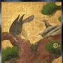 重要文化財・二の丸御殿障壁画「松鷹図」[提供:元離宮二条城事務所]
