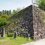 出石城 二の丸石垣