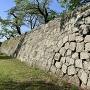 竹之丸東面石垣