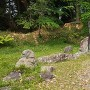 列祖神社奥の立石群。