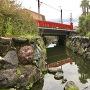 堀跡と主水橋