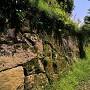 石垣(八幡丸跡東側)