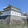 巽櫓と東御門。