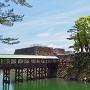 鞘橋と天守台