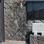 妙龍寺入り口の案内板と菅江真澄石碑