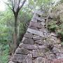 西の丸横の石垣