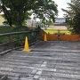 通用門の橋