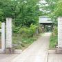 表門が移築されている観音寺さんの山門