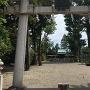 城址跡の神社